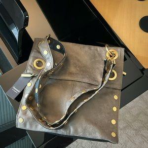 Hammitt   Montana Reversible Black & Pewter Bag